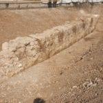 Dai lavori nell'ex Manifattura Tabacchi spunta un muro del forte austriaco